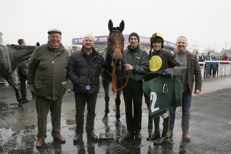 Delusionofgrandeurs seriously impressive Catterick win
